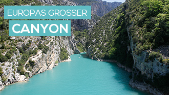 Gorges du Verdon - Europas grosser Canyon