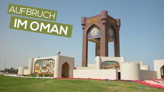 Aufbruch im Oman